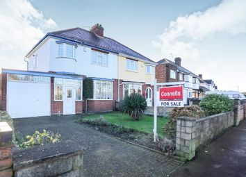 Thumbnail 3 bed semi-detached house for sale in Lower Prestwood Road, Wednesfield, Wolverhampton