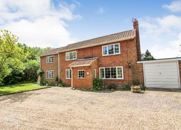 Thumbnail 5 bed detached house for sale in Broad Lane, Great Plumstead, Norwich