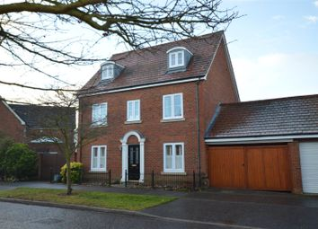 Thumbnail 5 bedroom detached house for sale in Maximus Drive, Colchester