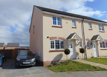 Thumbnail 3 bed semi-detached house for sale in Heol Waungron, Carway, Kidwelly, Carmarthenshire.