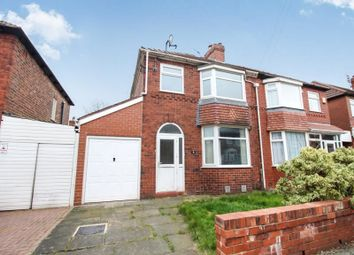 Thumbnail 3 bedroom property to rent in Manton Avenue, Denton, Manchester