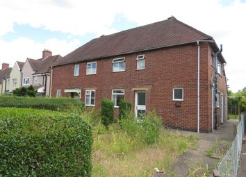 Thumbnail 3 bed semi-detached house for sale in Claymills Road, Stretton, Burton-On-Trent