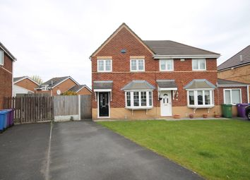 Thumbnail 3 bed semi-detached house for sale in Aries Close, Dovecot, Liverpool