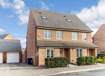 Harvest Drive, Cotgrave, Nottingham NG12. 3 bed semi-detached house for sale