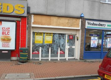 Retail premises to let in Upper High Street, Wednesbury WS10