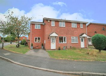 Thumbnail 3 bed semi-detached house for sale in Plover Crescent, Leicester