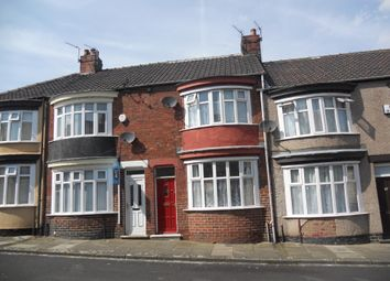 Thumbnail 3 bed terraced house to rent in Norcliffe Street, Middlesbrough