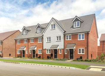 Thumbnail 3 bed terraced house for sale in The Hulsfield, Shopwyke Lakes, Shopwhyke Road, Chichester