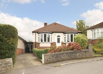 Thumbnail 3 bed bungalow for sale in Hutcliffe Drive, Sheffield, South Yorkshire