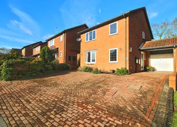 Thumbnail 4 bed detached house for sale in Framefield Drive, Solihull