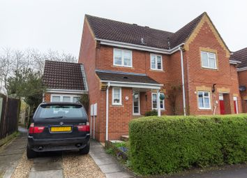 Thumbnail 3 bed end terrace house for sale in Borkum Close, Andover