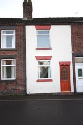 Thumbnail 2 bedroom terraced house to rent in The Bank, Scholar Green, Stoke-On-Trent