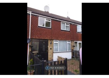 Thumbnail 3 bed terraced house to rent in Bysouth Close, Ilford