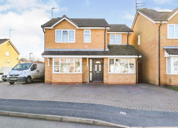 Thumbnail 4 bed detached house for sale in Ireton Way, March