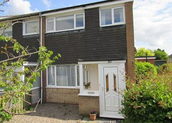 Thumbnail 3 bed end terrace house to rent in Hazel Grove, Oswestry
