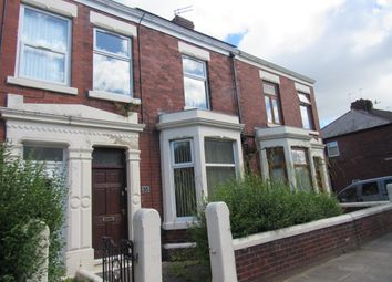 Thumbnail 4 bed terraced house to rent in Burrow Road, Preston