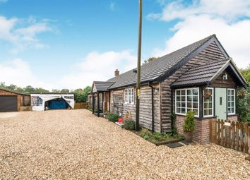 Thumbnail 3 bed detached bungalow for sale in Greywell Road, Mapledurwell, Basingstoke
