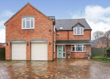 Thumbnail 5 bed detached house for sale in Fauld Lane, Burton-On-Trent
