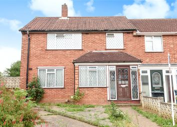 Thumbnail 3 bed end terrace house for sale in Maurier Close, Northolt, Middlesex