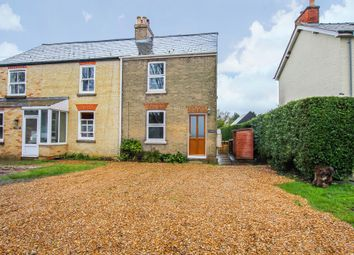 Thumbnail 3 bedroom semi-detached house for sale in Long Drove, Waterbeach, Cambridge