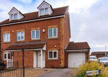 Thumbnail 3 bed semi-detached house for sale in Henry Court, Parkgate, Rotherham