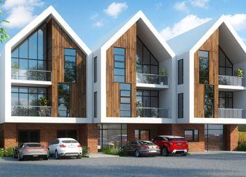 Thumbnail 3 bed flat for sale in Mollison Drive, Wallington