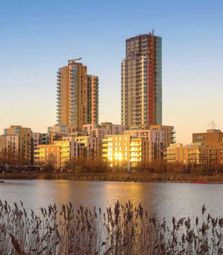 Thumbnail 3 bed flat for sale in The Shoreline, The Nature Collection, Woodberry Downs, Finsbury Park