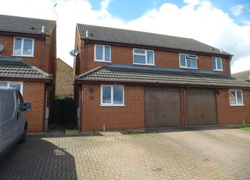 Thumbnail 3 bed semi-detached house for sale in Musson Close, Irthlingborough, Wellingborough