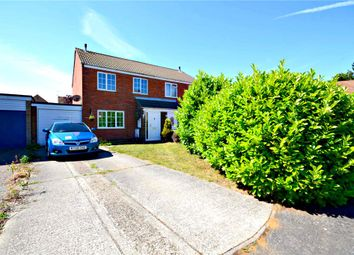 Thumbnail 3 bed semi-detached house for sale in Langstons, Trimley St. Mary, Felixstowe