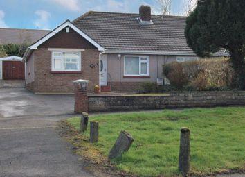 Thumbnail 3 bed semi-detached bungalow for sale in Birchgrove Road, Birchgrove, Swansea