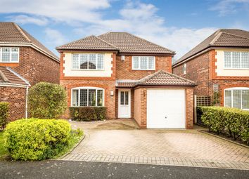 Thumbnail 4 bed detached house for sale in Mannington Close, Meols, Wirral