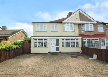 Thumbnail 4 bed semi-detached house for sale in Willersley Avenue, Sidcup, Kent