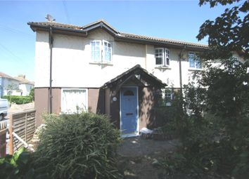 Thumbnail 2 bed semi-detached house for sale in Frys Cottages, High Street, Lower Stoke, Kent