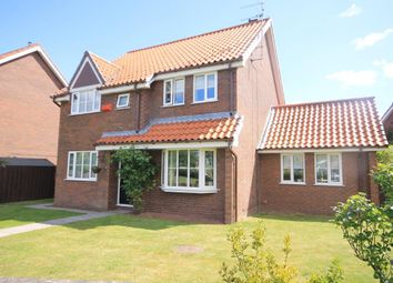 Thumbnail 4 bed detached house for sale in Mill Hill Crescent, Northallerton