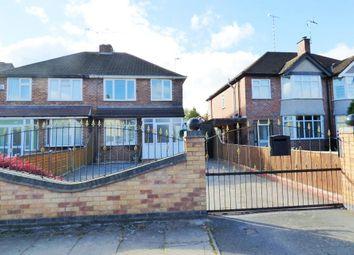 Thumbnail 3 bed semi-detached house for sale in Fivefield Road, Keresley End, Coventry