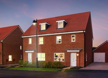 "Thumbnail 4 bed semi-detached house for sale in ""Oxford"" at Knollys Road, Aldershot"