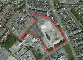 Thumbnail Land for sale in Former Westport House Site, Federation Road, Burslem, Stoke-On-Trent, Staffordshire