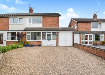 Thumbnail 3 bed semi-detached house for sale in Balmoral Road, Mountsorrel, Loughborough