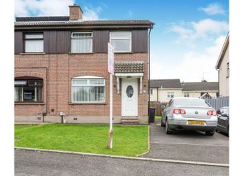 Thumbnail 3 bed semi-detached house for sale in Lagmore Grove, Belfast