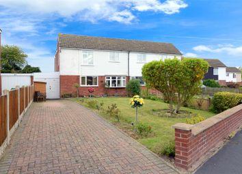 Thumbnail 3 bed semi-detached house for sale in White Lodge Park, Shawbury, Shrewsbury