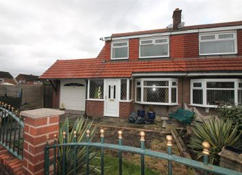 Thumbnail 3 bedroom semi-detached house for sale in Iona Way, Urmston, Manchester