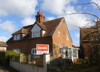 Thumbnail 2 bed semi-detached house for sale in Church Street, Wing, Leighton Buzzard