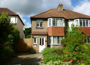 Thumbnail 3 bed semi-detached house to rent in Riddlesdown Road, Purley
