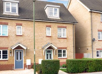 Thumbnail 4 bed town house for sale in Olliver Acre, Wick, Littlehampton