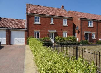 Thumbnail 4 bed link-detached house for sale in Rhone Walk, Spalding
