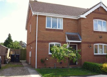Thumbnail 2 bed semi-detached house for sale in Bellview Road, Ruskington, Sleaford