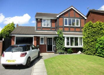 Thumbnail 4 bed detached house for sale in Hanwell Close, Leigh