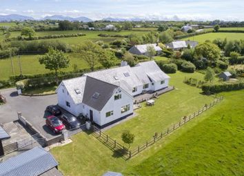 Thumbnail 5 bed detached house for sale in Rhostrehwfa, Llangefni, Anglesey, North Wales