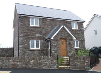 Thumbnail 3 bed detached house to rent in St. Davids Park, Llanfaes, Brecon