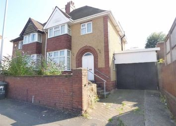Thumbnail 3 bedroom semi-detached house for sale in Newhampton Road West, Wolverhampton